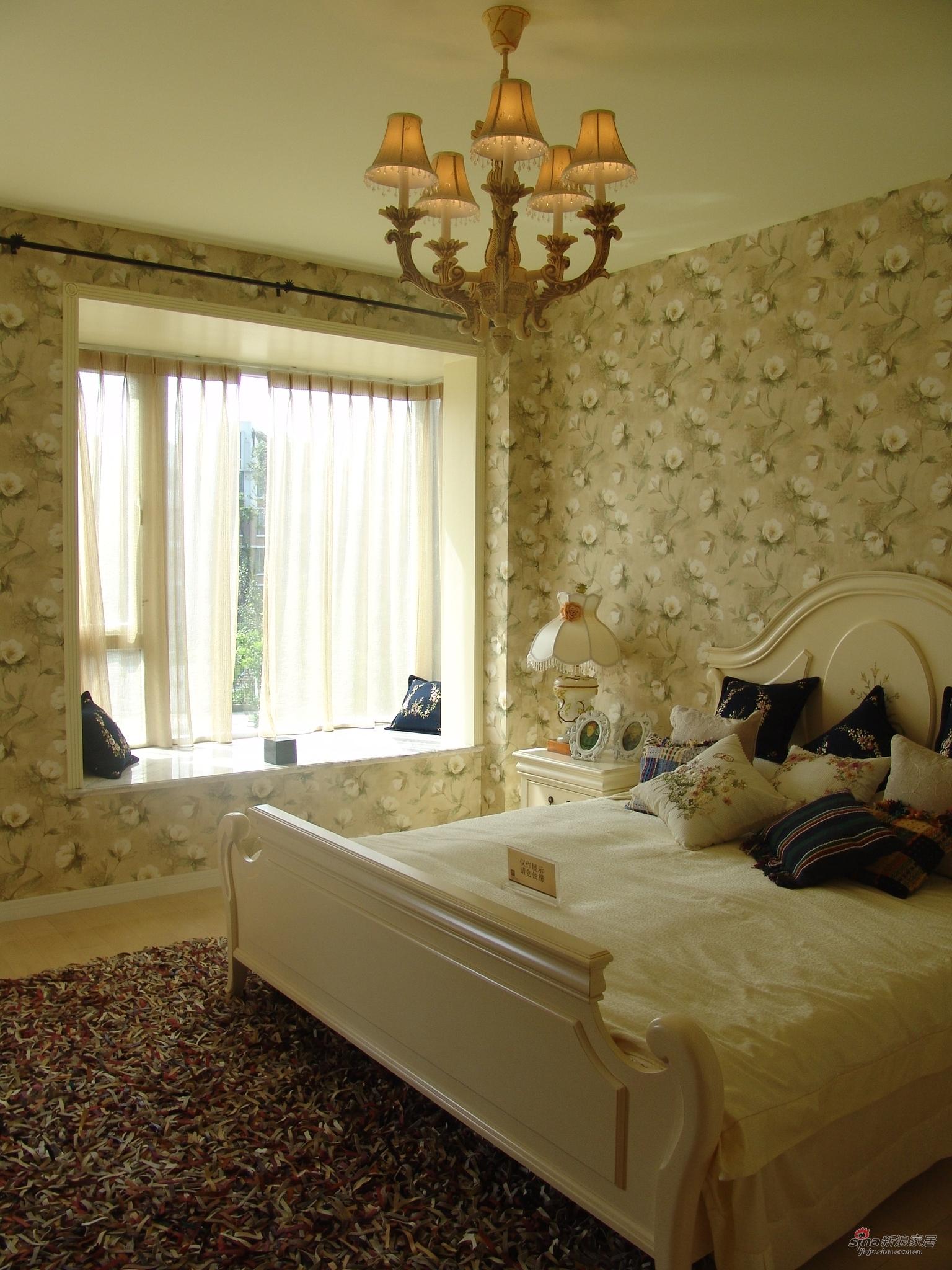 田园 二居 卧室图片来自用户2557006183在【高清】89平浪漫田园风格两居43的分享