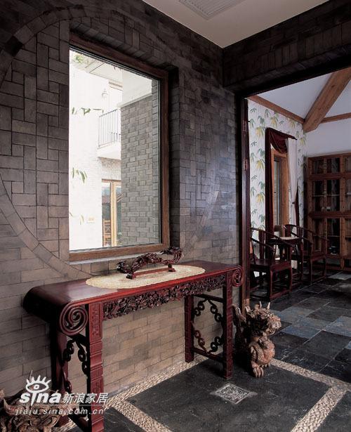 中式 别墅 玄关图片来自用户2757926655在简约中的异域之魅30的分享