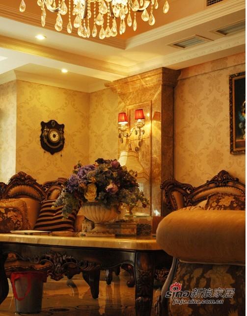 简约 别墅 客厅图片来自用户2738813661在18万装226平新古典别墅60的分享