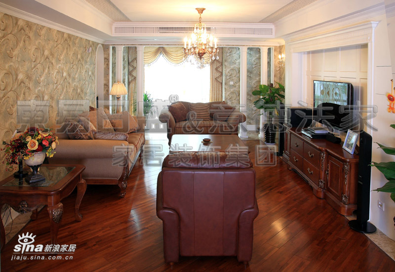 欧式 一居 客厅图片来自用户2757317061在领秀江南82的分享