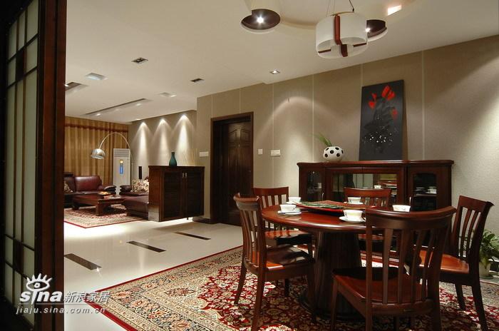 中式 别墅 餐厅图片来自用户2740483635在现代中式风格作品47的分享