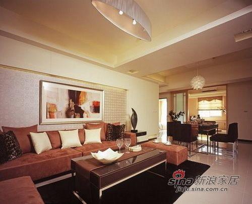 简约 三居 客厅图片来自用户2559456651在13万装低调奢华146㎡三居75的分享
