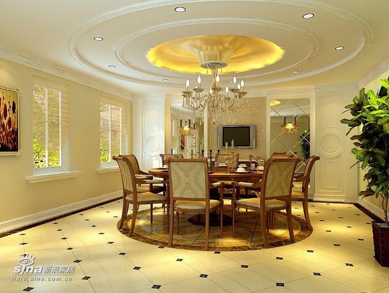 欧式 别墅 餐厅图片来自用户2746869241在欧式实景别墅68的分享