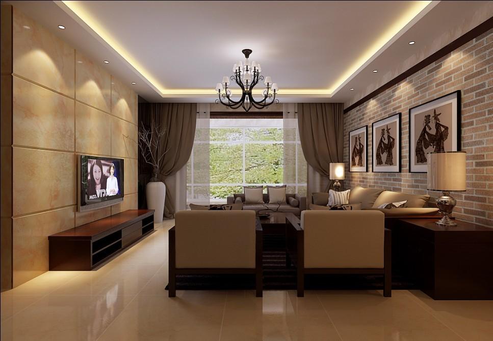 中式 别墅 客厅图片来自用户1907696363在270平米复式结构现代中式风格打造舒适家居94的分享