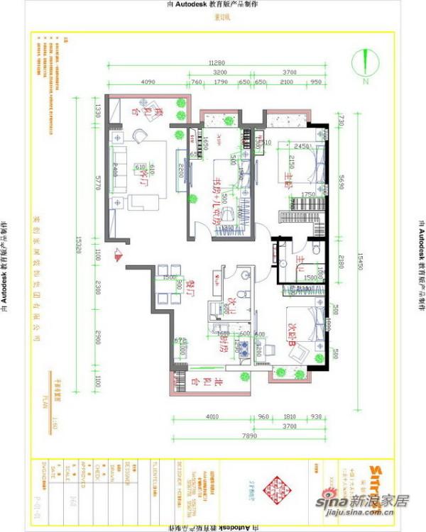 欧式 三居 其他图片来自用户2745758987在120平古典欧式风格旧房改造29的分享