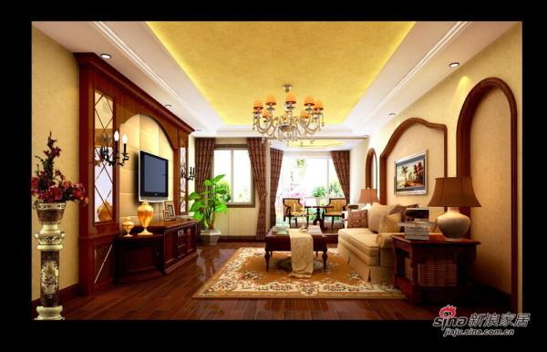 珠江帝景欧式设计