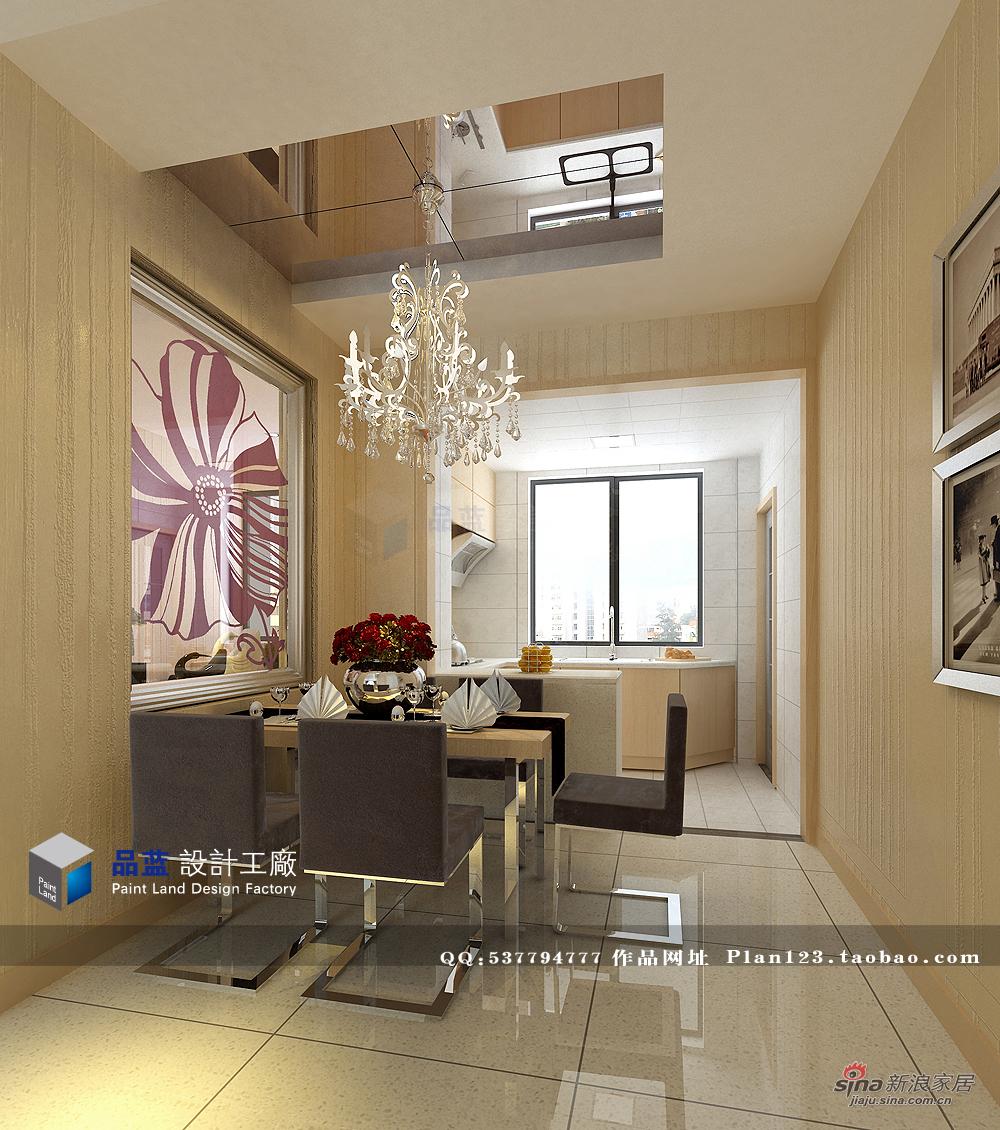 简约 三居 餐厅图片来自用户2737759857在雅致空间130平设计57的分享