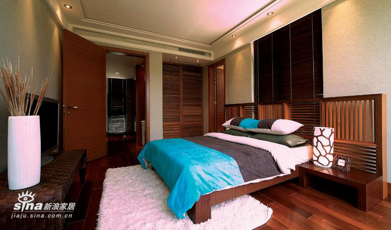 中式 别墅 卧室图片来自用户2748509701在新中式26的分享