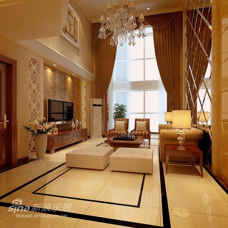 欧式 复式 客厅图片来自用户2557013183在低调奢华复式62的分享