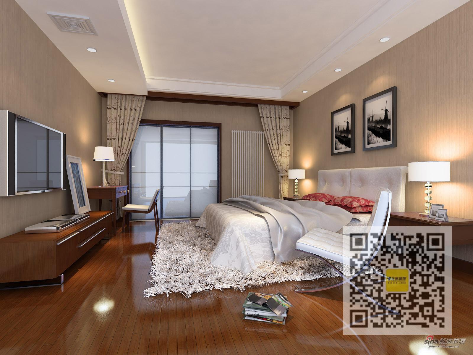 简约 四居 卧室图片来自用户2739153147在雍和家园简约· 休闲四居室85的分享