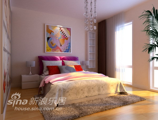 简约 四居 卧室图片来自用户2745807237在领袖新硅谷85的分享