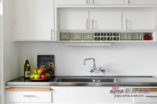 北欧 二居 厨房图片来自佰辰生活装饰在简约明亮96平米小清新公寓71的分享