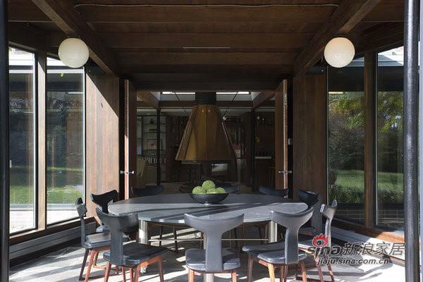 简约 别墅 餐厅图片来自用户2738813661在纽约州的20世纪中叶风格豪宅27的分享
