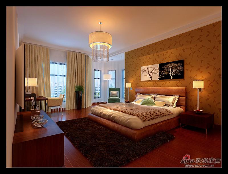 中式 三居 卧室图片来自用户1907696363在10万演绎完美121平中式3居17的分享