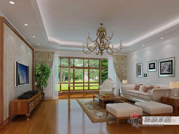 简约 一居 客厅图片来自用户2738813661在给力169平保利西山林语79的分享