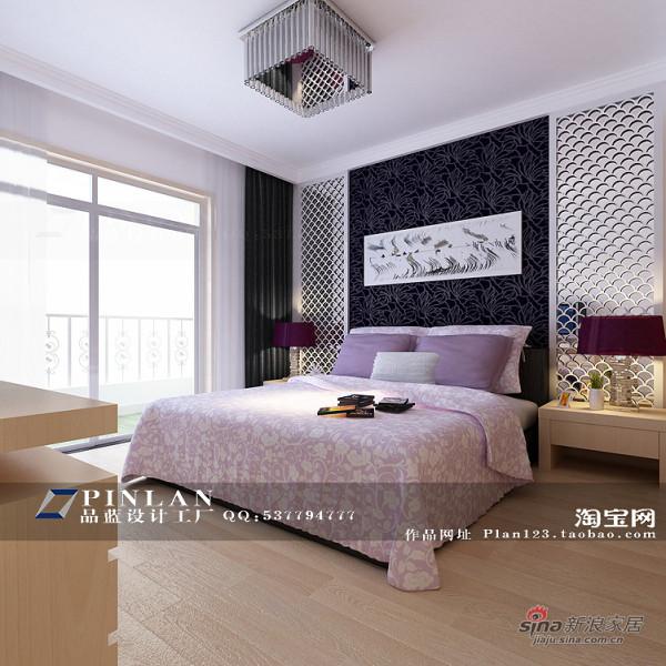 主卧室床头背景墙