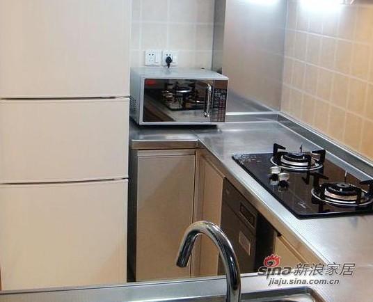简约 一居 厨房图片来自用户2737782783在80后花8万打造60平简约婚房13的分享