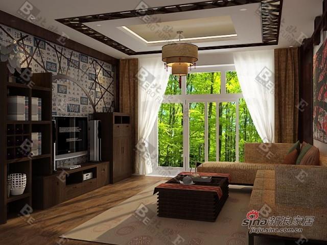 简约 别墅 客厅图片来自用户2737786973在12万打造别墅永恒经典49的分享