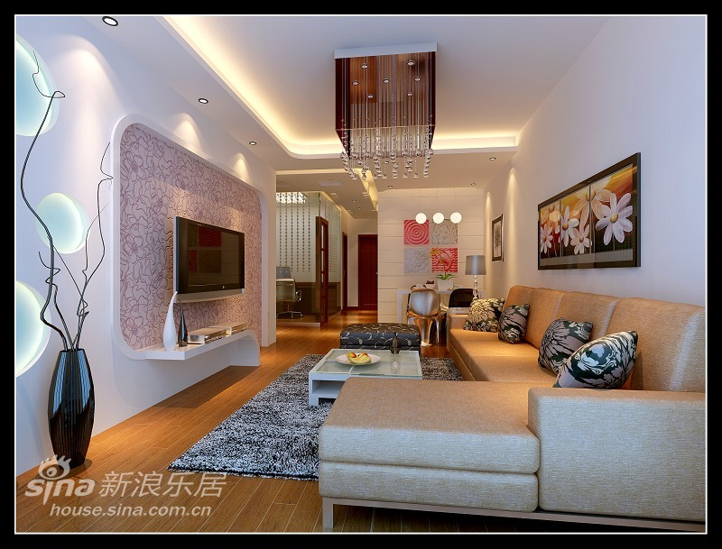 简约 一居 客厅图片来自用户2559456651在程庄路北里58的分享