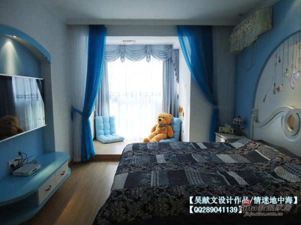 地中海风格主卧室