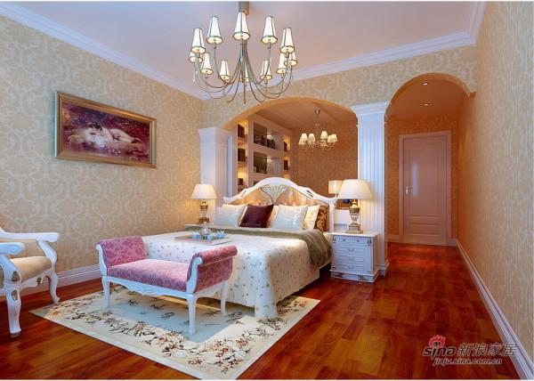 欧式卧室方案一