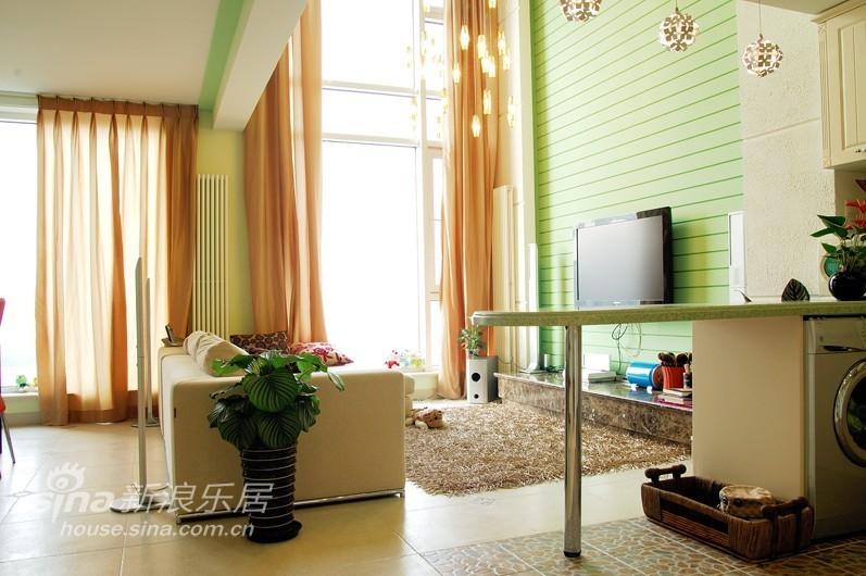 简约 跃层 客厅图片来自用户2739378857在绝对精彩loft96的分享