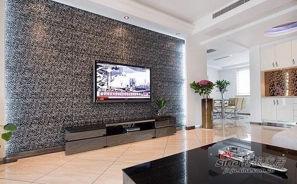 简约 三居 客厅图片来自用户2557979841在5万装修87平方典雅素色简约三居室40的分享