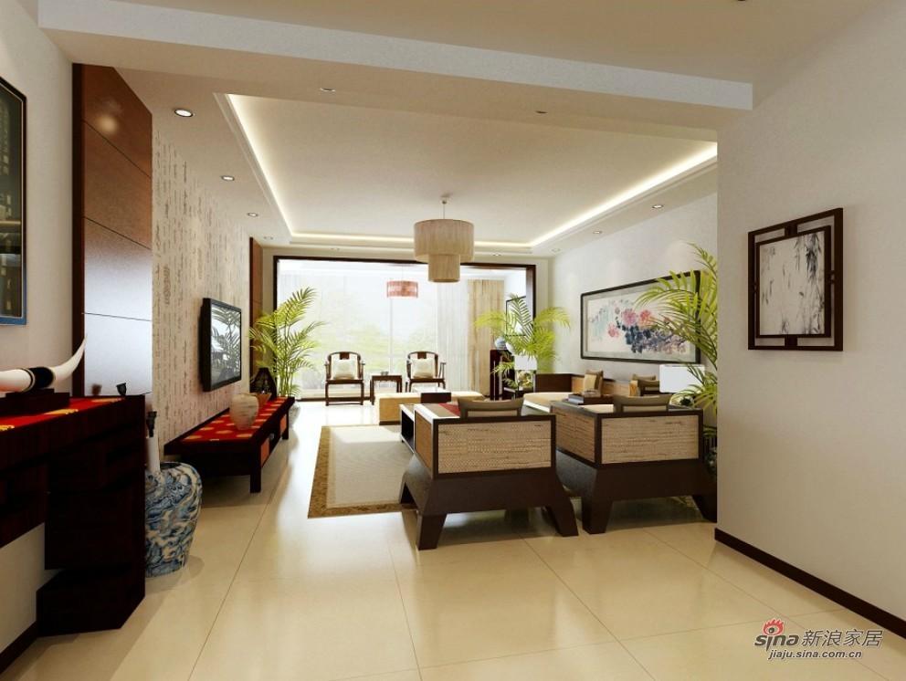 中式 二居 客厅图片来自用户1907696363在简约中式风格·打造不凡品味家居62的分享