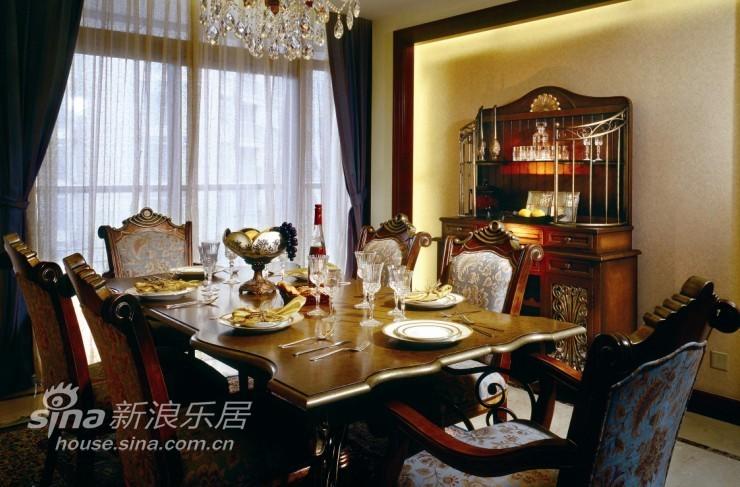欧式 别墅 餐厅图片来自用户2772873991在杭州西子湾别墅49的分享