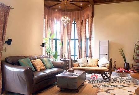 混搭 别墅 客厅图片来自用户1907689327在混搭个性豪宅37的分享