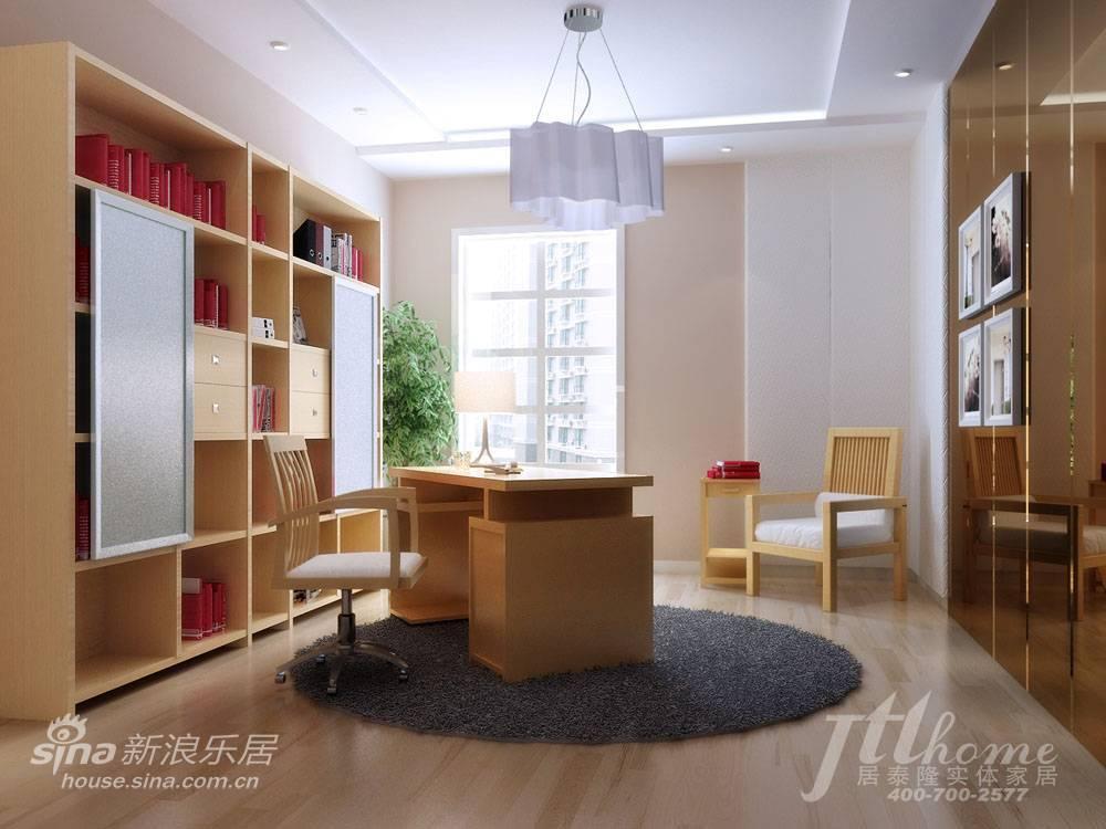 简约 三居 书房图片来自用户2738093703在130平简约素雅的时尚美家88的分享