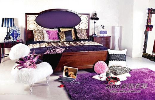 现代 简约 卧室 碎花 糖果色 奢华 白富美 舒适 温馨图片来自用户2772840321在22款舒适卧室装修 宅家族的窝心体验的分享