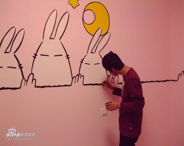 乌鲁木齐手绘墙画