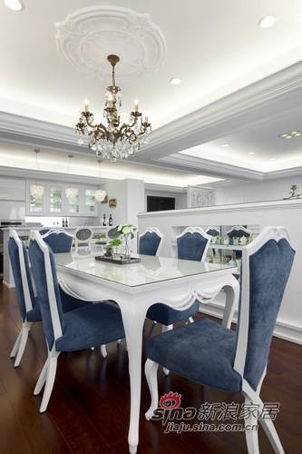 欧式 三居 餐厅图片来自用户2746953981在坐拥有法式人生78的分享