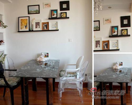 田园 二居 餐厅图片来自用户2737791853在小资女10万装60平田园新家19的分享