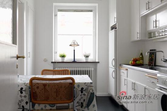北欧 二居 餐厅图片来自佰辰生活装饰在简约明亮96平米小清新公寓71的分享