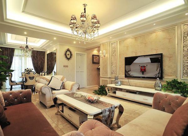 创意设计140平米简欧二居