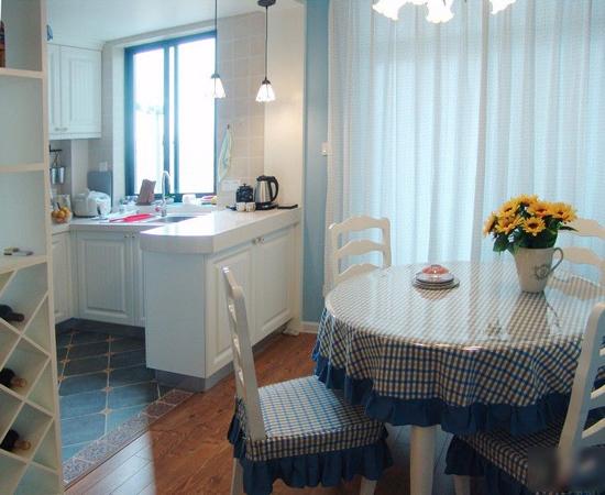 地中海 三居 餐厅图片来自用户2757320995在7.2万铸造地中海风情三居室56的分享