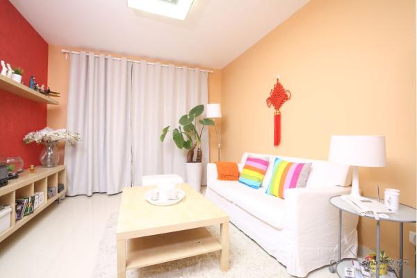 刷新后的色彩客厅
