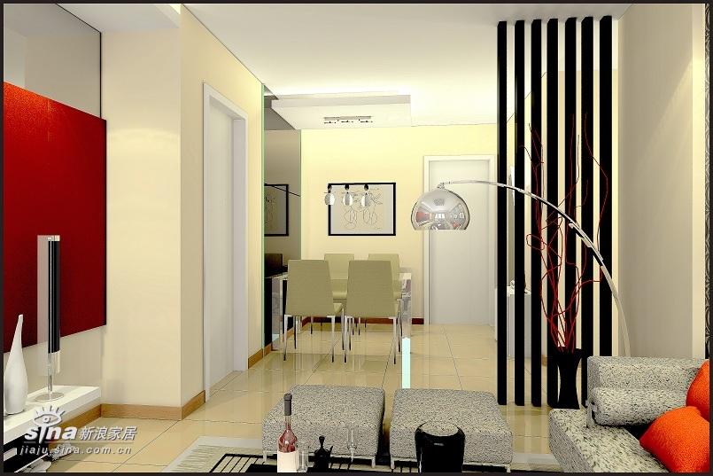 简约 二居 客厅图片来自用户2738813661在金隅美和园简约设计92的分享