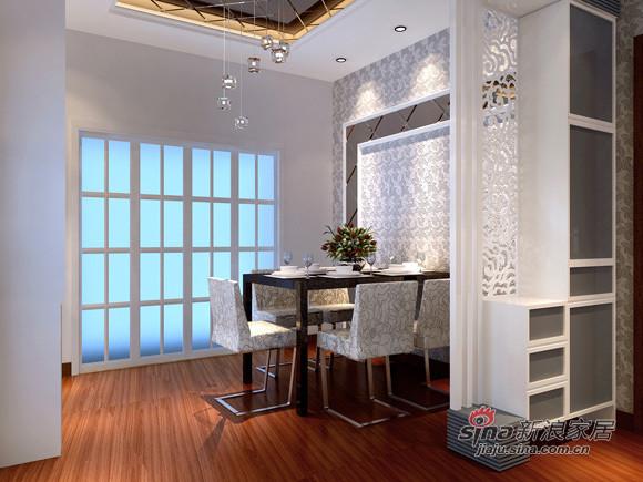简约 三居 餐厅图片来自用户2737782783在7万打造130平米3居室清新简洁32的分享
