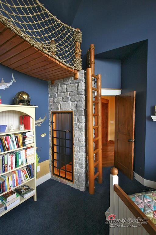 简约 别墅 卧室图片来自用户2738829145在创意海盗船主题童趣儿童房89的分享