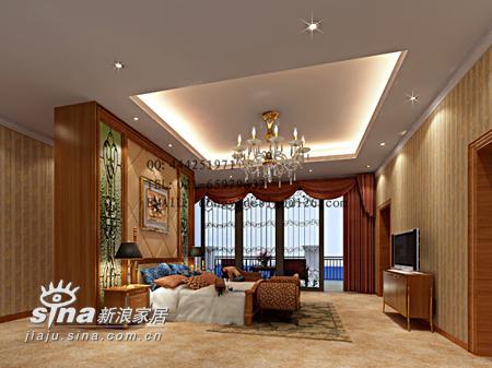 欧式 别墅 卧室图片来自用户2745758987在别墅73的分享