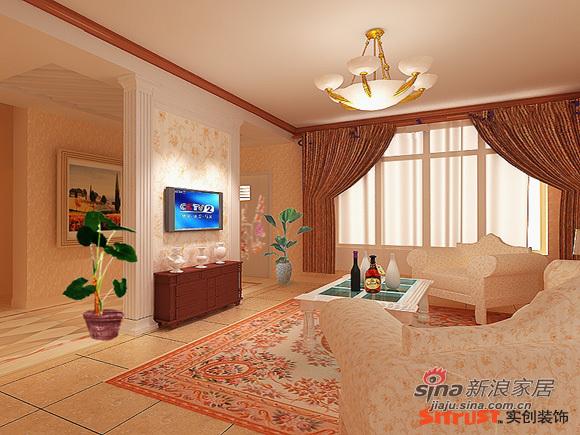 欧式 四居 客厅图片来自用户2745758987在怀柔别墅现代的欧式风格27的分享