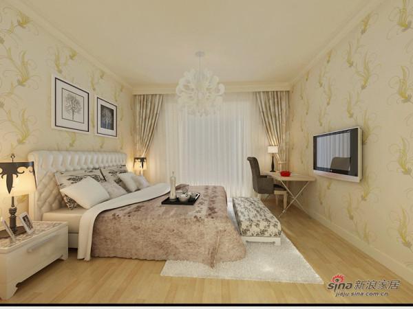 混搭欧式元素的卧室设计