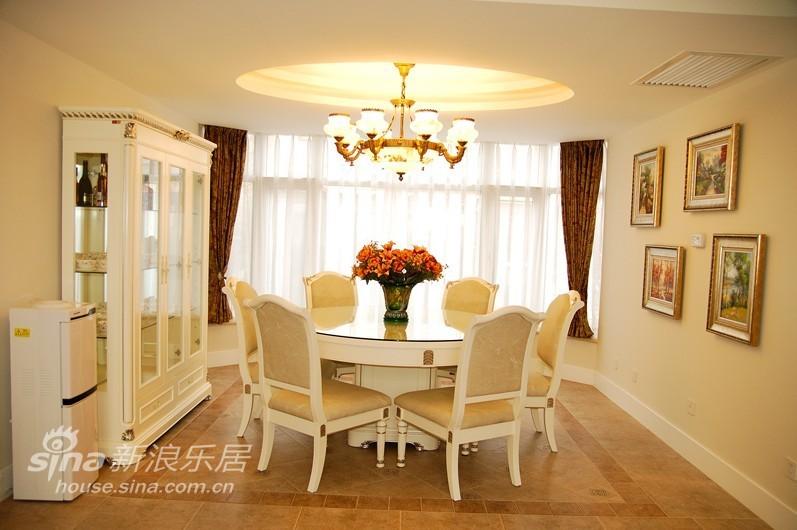 欧式 别墅 餐厅图片来自用户2746889121在现代欧式别墅54的分享
