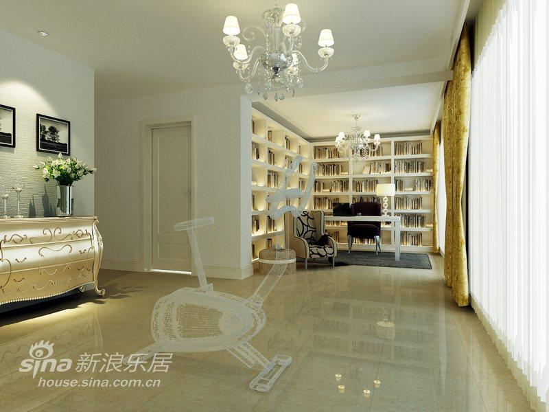 欧式 别墅 书房图片来自用户2772856065在色彩诠释完美达观别墅48的分享