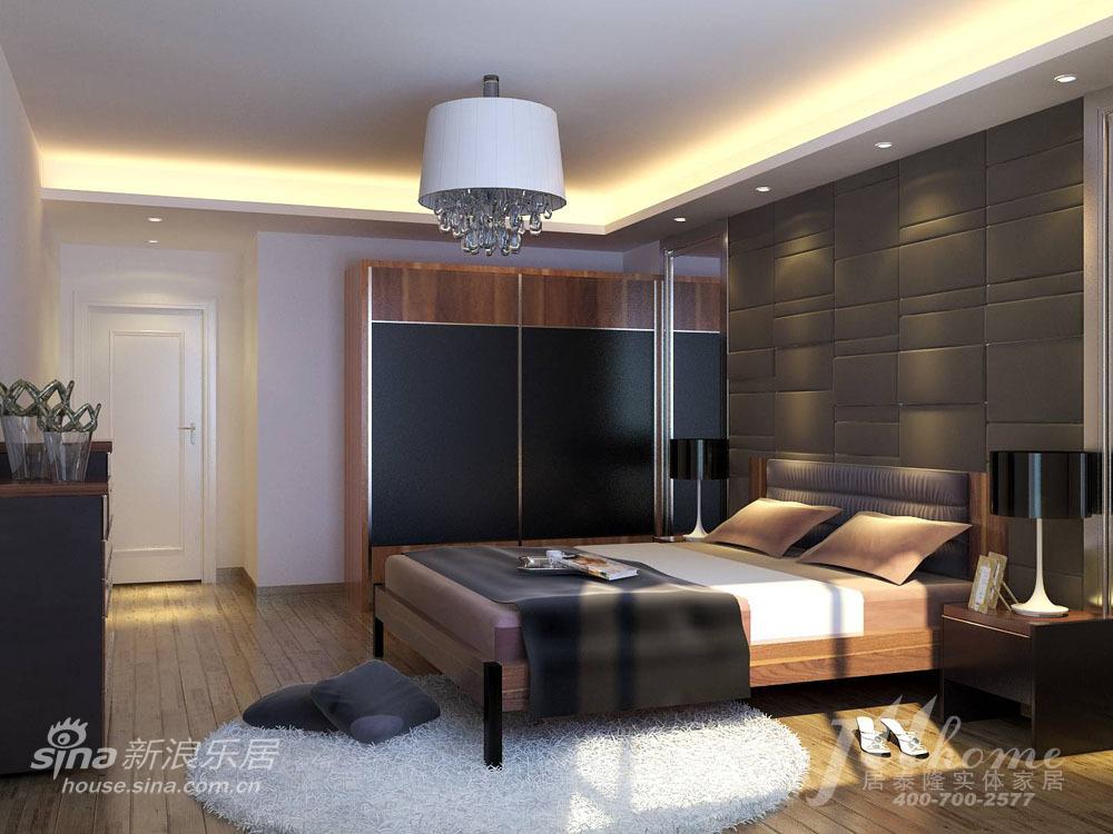 简约 三居 卧室图片来自用户2738820801在新中式风格 让古典的美丽穿越时光的界限24的分享