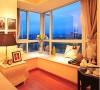 唯美卧室,漂亮飘窗!