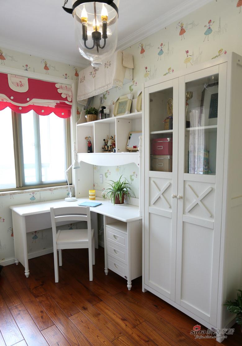 混搭 复式 儿童房图片来自装修微日记在【高清】178平大气混搭时尚复式空间64的分享